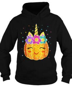 Cute Unicorn Pumpkin Halloween hoodie