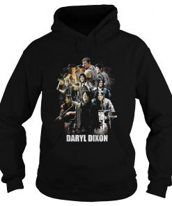Daryl Dixon The Walking Dead collage Hoodie