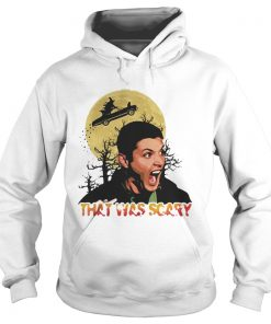Dean Winchester that was scary halloween hoodie