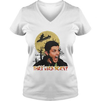 Dean Winchester that was scary halloween shirt ladies v-neck