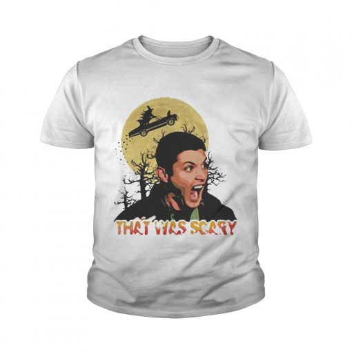 Dean Winchester that was scary halloween youth tee