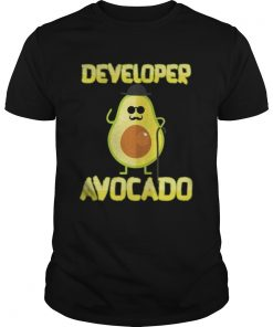 Developer Avocado With Hat Halloween Costume Guys