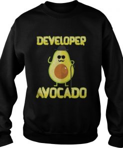 Developer Avocado With Hat Halloween Costume Sweatshirt