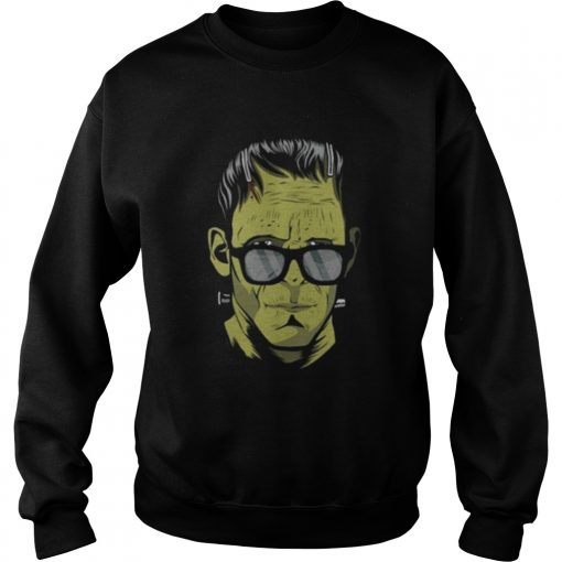 Frankensteins monster Hipster Halloween costume Sweatshirt