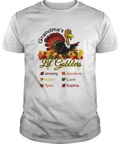 Grandma's Little' Gobblers Jeremy Jasmine Hazel Guys