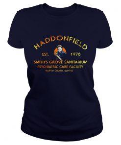 Haddonfield est 1978 smiths grove sanitarium psychiatric care facility Ladies Tee