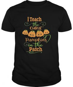 Halloween I Teach The Cutest Pumpkins Funny Teacher Guys