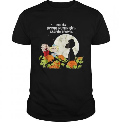 Halloween Its the Great Tee Pumpkin Guys