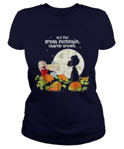 Halloween Its the Great Tee Pumpkin Ladies Tee