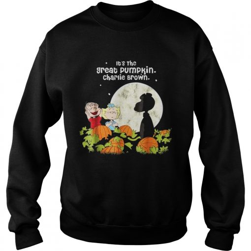 Halloween Its the Great Tee Pumpkin Sweatshirt