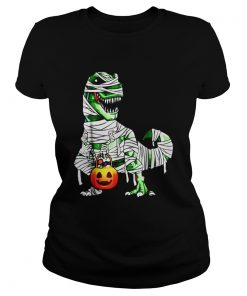 Halloween Pumpkin Dinosaur classic ladies