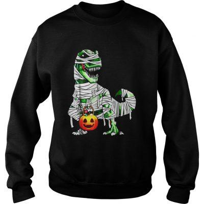 Halloween Pumpkin Dinosaur sweatshirt