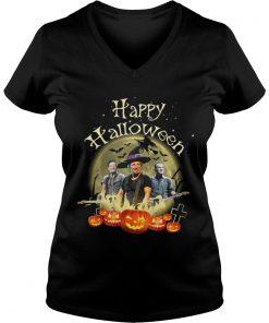 Happy Halloween Bruce Springsteen ladies v-neck