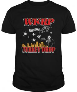 Happy thanksgiving from WKRP turkey drop Guys