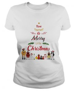 Have Yourself A Merry Little Christmas Ladies Tee