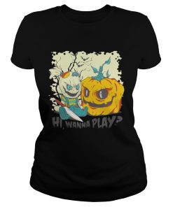 Hi Wanna Play Ladies Tee