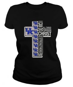 Holy Price UK I can do Christ who strengthens me all things through Ladies Tee