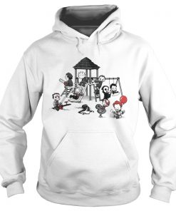 Horror Park Cute Horror Movie Villains hoodie