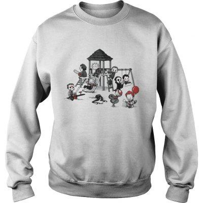 Horror Park Cute Horror Movie Villains sweatshirt
