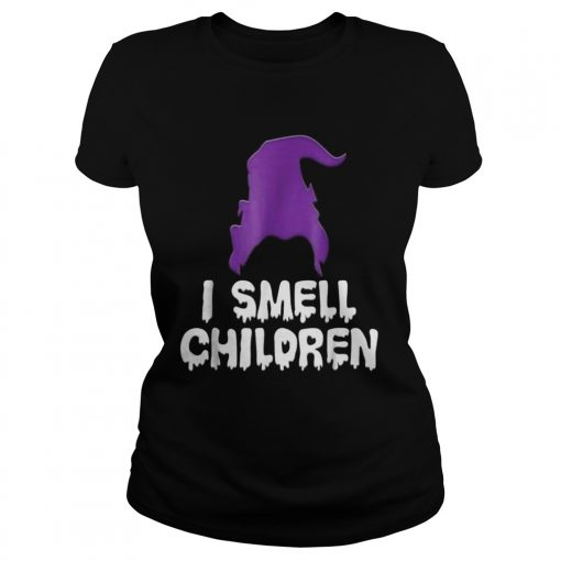 I Smell Children Funny Halloween classic ladies