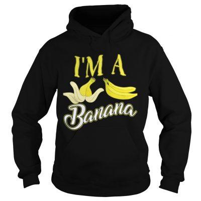 I m A Banana Halloween Costume Hoodie
