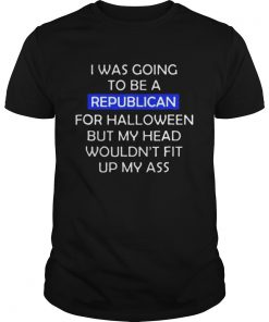I was going to be a republican for Halloween Guys