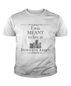 I was meant to live at Downton Abbey youth tee