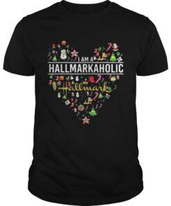 Im a Hallmarkaholic Christmas Guys