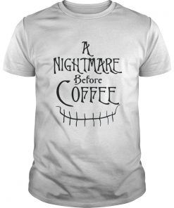 Jack Skellington a nightmare before coffee Guys