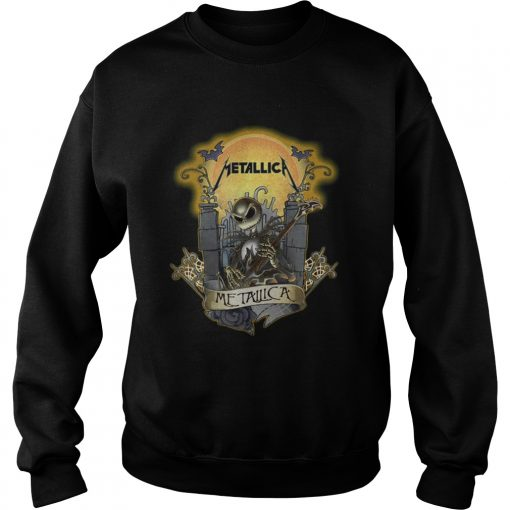 Jack Skellington metallica Sweatshirt