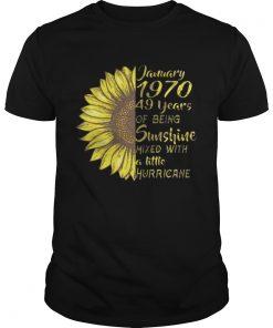 January 1970 49 Years Of Being Sunshine Mixed With Hurricance Guys