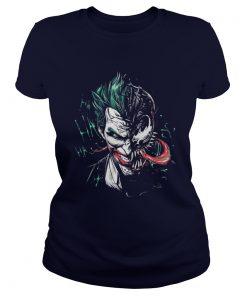 Joker Venom mashup Ladies Tee