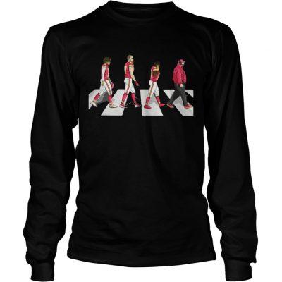 Kansas City Chiefs Abbey Road Longsleeve Tee