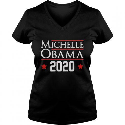 Michelle obama 2020 ladies v-neck