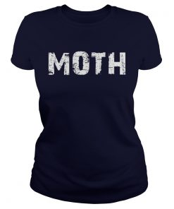 Moth Funny Halloween Costume Sarcastic Couple Ladies Tee