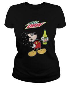 Mountain Dew Mickey Mouse Ladies Tee