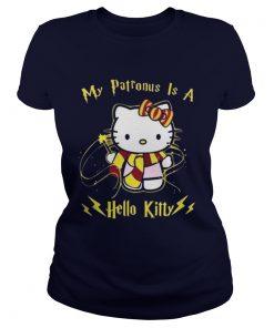 My patronus is a hello kitty Ladies Tee