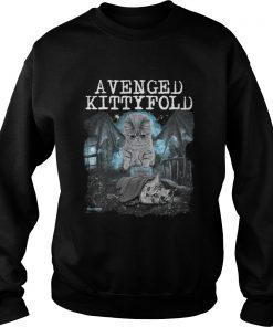 Official Avenged kitty fold sweatshirt