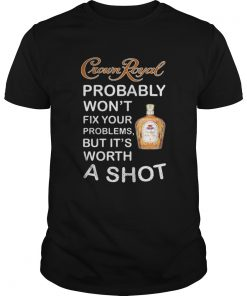 Official Crown Royal probably wont fix your problems but Its worth a Guys