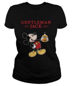 Official Mickey Mouse Gentleman Jack Ladies Tee