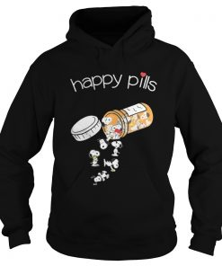 Official Snoopy happy pills hoodie