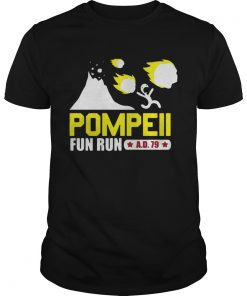 Pompeii fun run Guys