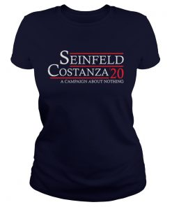 Seinfeld Costanza 20 a Campaign about nothing Ladies Tee