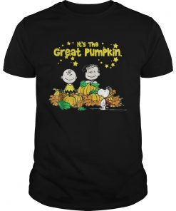 Snoopy and Charlie Brown It's the great Pumpkin Peanuts halloween Guys