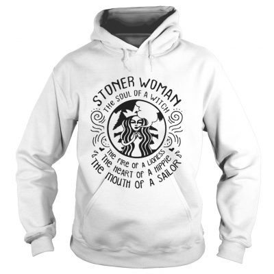 Stoner woman the soul of a witch the fire of a lioness hoodie