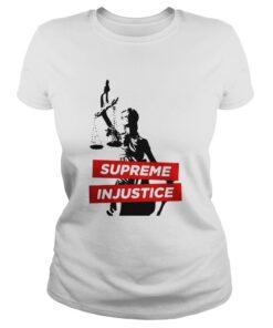 Supreme Injustice Ladies Tee