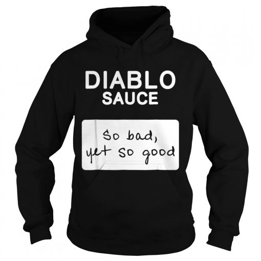 Taco Diablo Sauce Packet Halloween Costume Hoodie