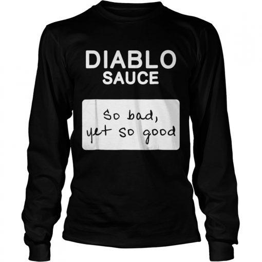 Taco Diablo Sauce Packet Halloween Costume Longsleeve Tee