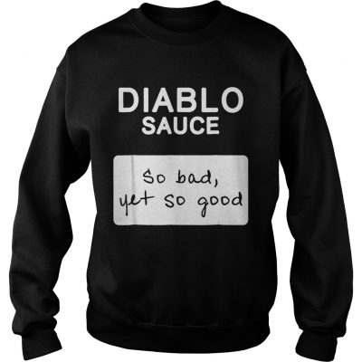 Taco Diablo Sauce Packet Halloween Costume Sweatshirt