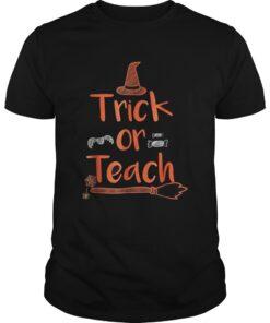 Teacher Halloween TShirtTrick Guys